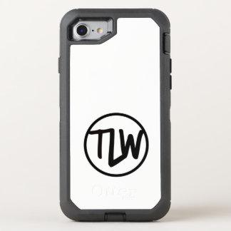 Coque OtterBox Defender iPhone 8/7 Caisse de boîte de loutre de logo de TLW