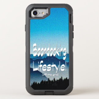 Coque OtterBox Defender iPhone 8/7 Conception de mode de vie de Boondocking