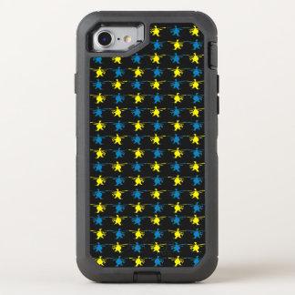 Coque OtterBox Defender iPhone 8/7 Croquis de mise au point de jaune de motif