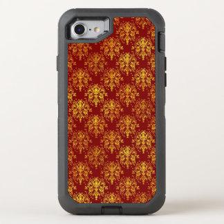 Coque OtterBox Defender iPhone 8/7 Damassé riche de vacances