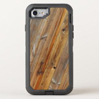 Coque OtterBox Defender iPhone 8/7 Diagonale en bois de planche