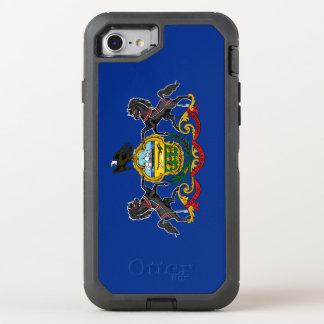 Coque OtterBox Defender iPhone 8/7 Drapeau de la Pennsylvanie