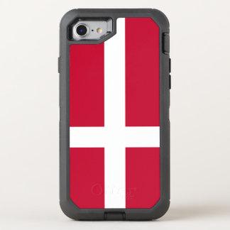 Coque OtterBox Defender iPhone 8/7 Drapeau du Danemark