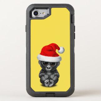 Coque OtterBox Defender iPhone 8/7 Gorille de bébé utilisant un casquette de Père