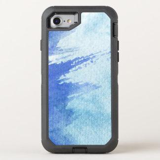 Coque OtterBox Defender iPhone 8/7 grand arrière - plan d'aquarelle - peintures 4