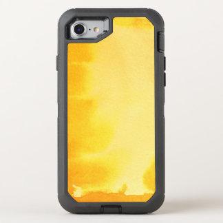 Coque OtterBox Defender iPhone 8/7 grand arrière - plan d'aquarelle - peintures 5