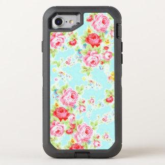 Coque OtterBox Defender iPhone 8/7 Le cru rose bleu s'est levé
