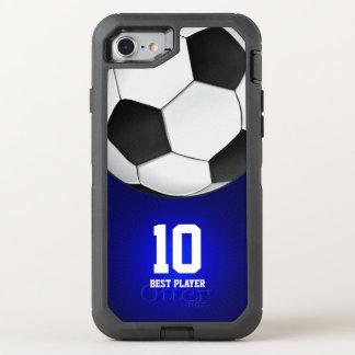Coque OtterBox Defender iPhone 8/7 Le meilleur joueur aucuns sports du football du
