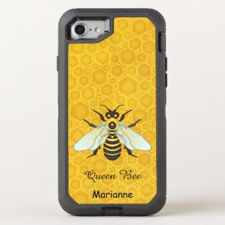 Coque OtterBox Defender iPhone 8/7 Le nid d'abeilles assez | d'abeille de reine des