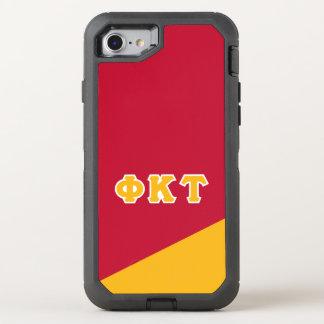 Coque OtterBox Defender iPhone 8/7 Lettres de Grec de Tau   de Kappa de phi