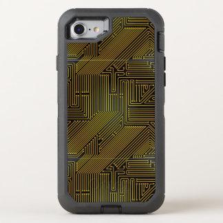 Coque OtterBox Defender iPhone 8/7 Motif de carte d'ordinateur