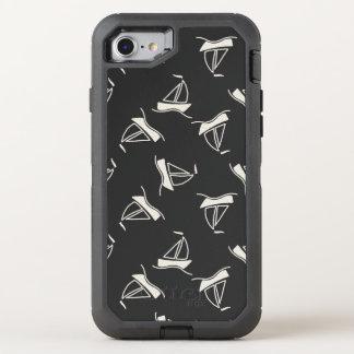 Coque OtterBox Defender iPhone 8/7 Motif de voilier de griffonnage