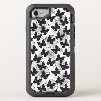 Coque OtterBox Defender iPhone 8/7 motif d'un papillon