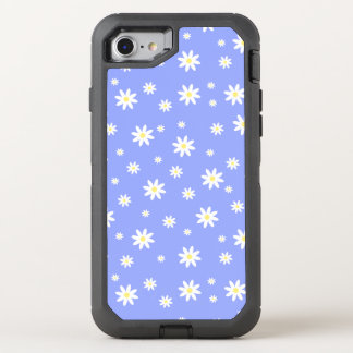 Coque OtterBox Defender iPhone 8/7 Motif en pastel mignon et girly de marguerite