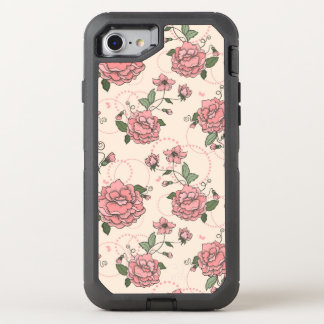 Coque OtterBox Defender iPhone 8/7 Motif floral 5 2