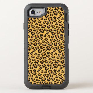 Coque OtterBox Defender iPhone 8/7 Motif sauvage de fourrure de Faux de léopard ou