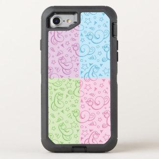 Coque OtterBox Defender iPhone 8/7 motifs avec des serpents