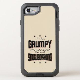 Coque OtterBox Defender iPhone 8/7 NE PAS FAIRE DU SURF DES NEIGES GRINCHEUX (noir)