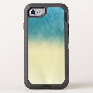 Coque OtterBox Defender iPhone 8/7 Papier d'aquarelle de texture de fond