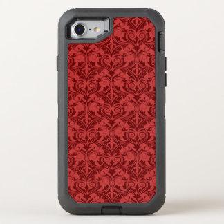 Coque OtterBox Defender iPhone 8/7 Papier peint rouge