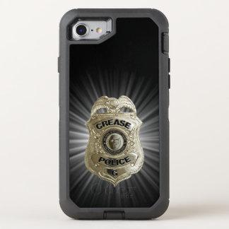 Coque OtterBox Defender iPhone 8/7 Police de pli (gardien de but d'hockey)