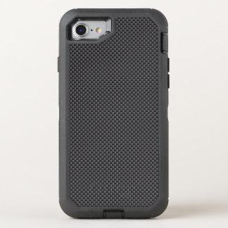 Coque OtterBox Defender iPhone 8/7 Polymère noir et gris de fibre de carbone