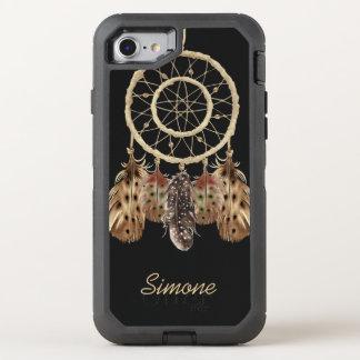 Coque OtterBox Defender iPhone 8/7 Receveur de rêve de style de Boho avec le