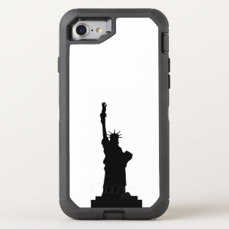 Coque OtterBox Defender iPhone 8/7 statue-liberté