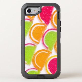 Coque OtterBox Defender iPhone 8/7 Sucrerie différente colorée de gelée