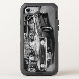 Coque OtterBox Defender iPhone 8/7 Téléphone noir et blanc de Camaro