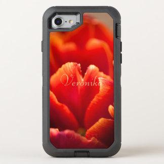 Coque OtterBox Defender iPhone 8/7 Tulipe rouge