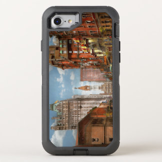 Coque OtterBox Defender iPhone 8/7 Ville - PA Philadelphie - large rue 1905