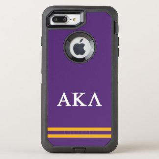 Coque OtterBox Defender iPhone 8 Plus/7 Plus Alpha rayure de sport du Kappa lambda |