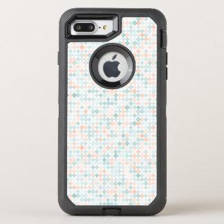 Coque OtterBox Defender iPhone 8 Plus/7 Plus Arrière - plan abstrait avec de petites taches