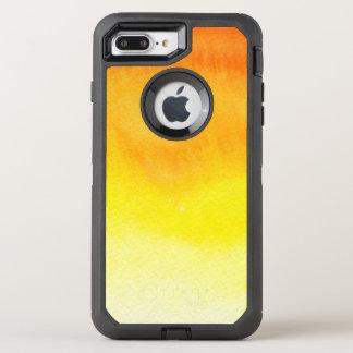 Coque OtterBox Defender iPhone 8 Plus/7 Plus Arrière - plan peint à la main d'aquarelle