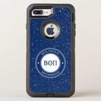 Coque OtterBox Defender iPhone 8 Plus/7 Plus Bêta insigne du thêta pi |