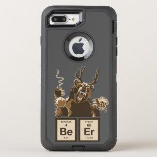 Coque OtterBox Defender iPhone 8 Plus/7 Plus Bière découverte par ours de chimie