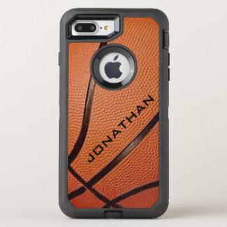 Coque OtterBox Defender iPhone 8 Plus/7 Plus Boîte de loutre de conception de basket-ball