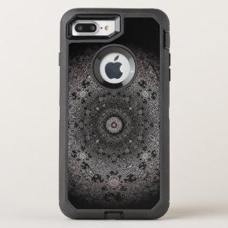 Coque OtterBox Defender iPhone 8 Plus/7 Plus Chasse du croquis foncé de l'oeil-comme la forme