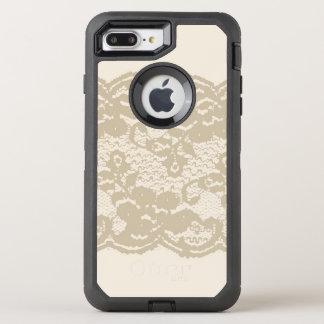 Coque OtterBox Defender iPhone 8 Plus/7 Plus Dentelle beige