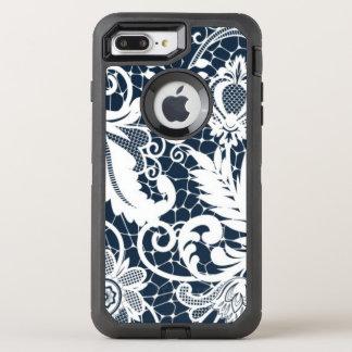 Coque OtterBox Defender iPhone 8 Plus/7 Plus Dentelle blanche 2