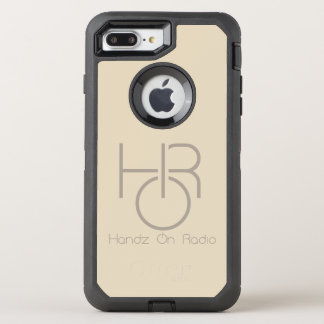 Coque OtterBox Defender iPhone 8 Plus/7 Plus iPhone de logo de HOR 8 Plus/7 plus l'or de cas de