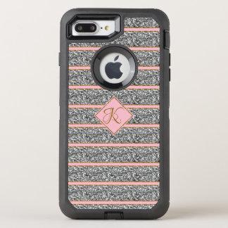 Coque OtterBox Defender iPhone 8 Plus/7 Plus Les meilleures parties scintillantes argentées