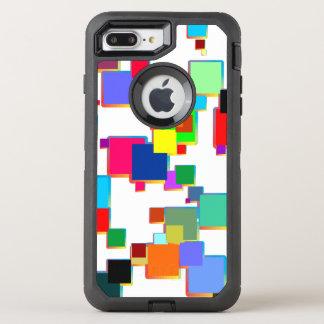 Coque OtterBox Defender iPhone 8 Plus/7 Plus Minimalistes carrés avec le gradient de découpe