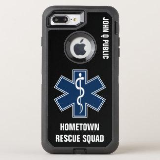 Coque OtterBox Defender iPhone 8 Plus/7 Plus Modèle nommé de l'infirmier EMT SME