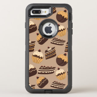 Coque OtterBox Defender iPhone 8 Plus/7 Plus Motif 3 de chocolat et de pâtisseries