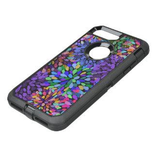 Coque OtterBox Defender iPhone 8 Plus/7 Plus Motif d'abrégé sur néon