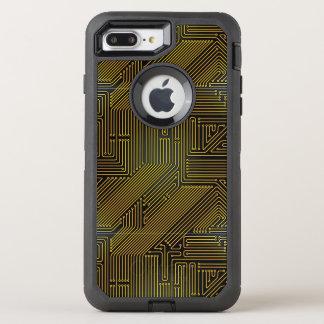 Coque OtterBox Defender iPhone 8 Plus/7 Plus Motif de carte d'ordinateur