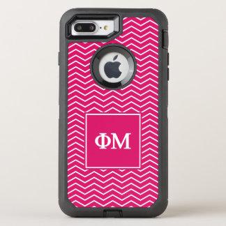 Coque OtterBox Defender iPhone 8 Plus/7 Plus Motif de la MU | Chevron de phi