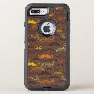 Coque OtterBox Defender iPhone 8 Plus/7 Plus Motif de moustache, rétro style 5